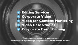 London Corporate Media - video editing & video production services
